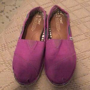 Toms women's 7.5 shoes
